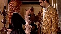 Bokep Redhead noblewoman banged in historical dress