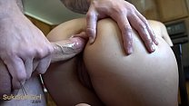 Bokep anal creampie and she doesn't make a sound