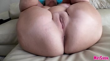 Curvy MILF Fucking Her Husband on the Couch