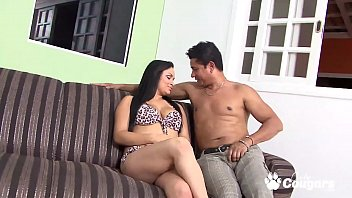 Slutty Latina Gets Banged In Her Butt