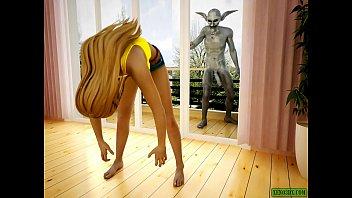 Imp's Horniness. Hentai 3D