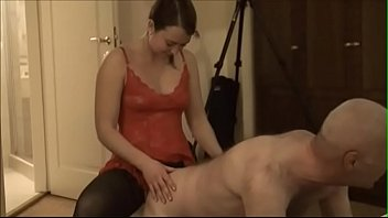 Bokep Pervert homo Ulf Larsen taken with strap-on by young whore