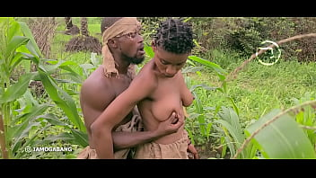 Outdoor Sex with African Ebony Slut Amaka