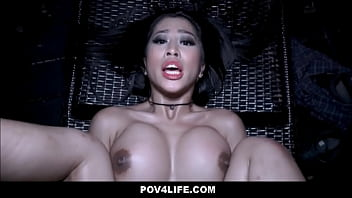 Bokep Seks Sexy Big Tits Asian Teenager Banged By Neighbor