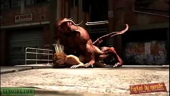 Horny Demon Strikes Again. Monster Hentai 3D