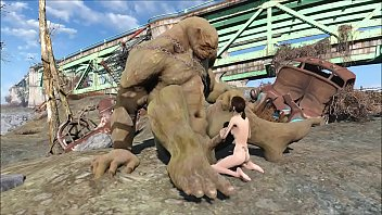 Fallout 4 Giant Super Mutant