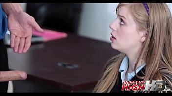 Blonde Schoolgirl Teen Dolly Leigh Sex In Classroom