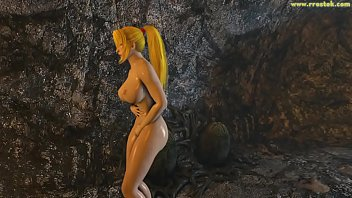 Samus Aran fucked by huge xenomorph monster aliens Full Movie