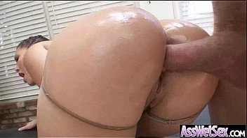 Anal Sex Tape With Curvy Big Ass Oiled Up Slut Girl (london keyes) vid-22