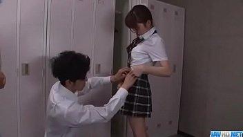 Moe Sakura, schoolgirl in heats, craves for big cock - More at Javhd.net