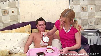 Teens Analyzed - Breakfast in bed and hot morning sex
