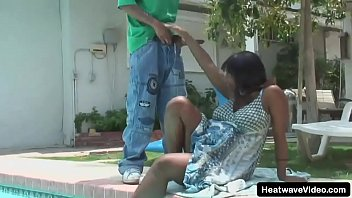Barefoot And Pregnant #27 - Vanessa Rain - Pregnant black MILF is taking on a young black stud with a huge dick