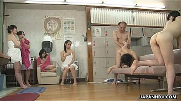 Old man fucking Asian babes as the time stops