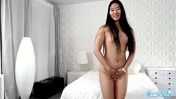Katana X masturbates on webcam for the first time