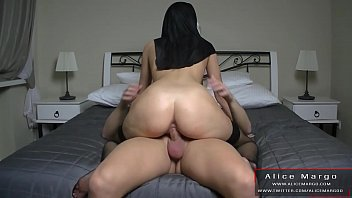 Sexy Teen With Big Ass Jump on My cock! AliceMargo.com