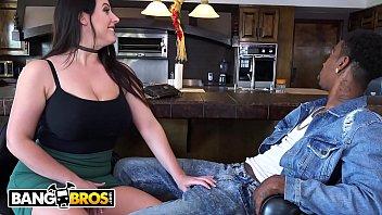 BANGBROS - Delicious White Girl With Big Tits & Big Ass (Angela White) Taking BBC