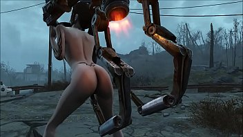 Fallout 4 Robot for fuck