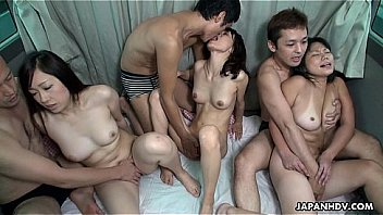 Bokep Three bitches have a cock for their each cunt