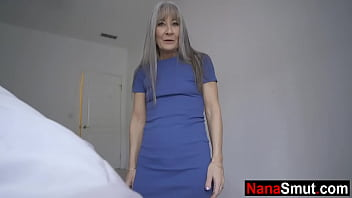 Hot grandma and grandson sex