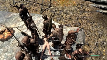 Bandits sell Skyrim girl to BDSM