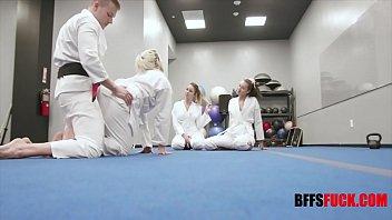Karate Teens Fuck Sensei