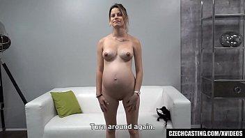 Czech Casting - Pregnant Teen Girl Cheating