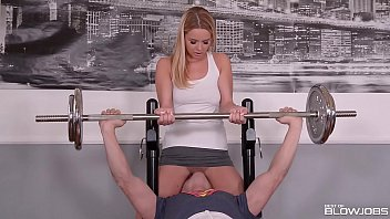 Blowjob after workout makes Nikky Dream scream and cream while swallowing dick in 69