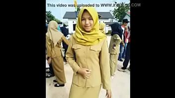 Sma jilbab sange