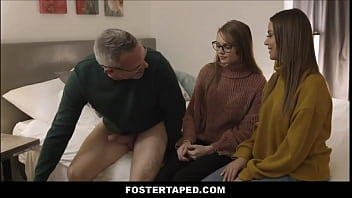 Little Young Blonde Tiny Teen Foster Step Daughter Family Fucked By Foster Daddy While Latina MILF Foster Mom Teaches