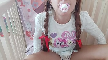 Bokep the diaper and the pacifier are excited and now the little girl will learn to give herself pleasure