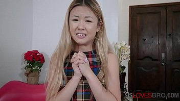 Asian Horny Sister Makes Brother Fuck Her