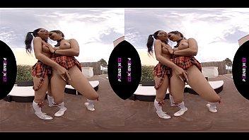 Nonton Bokep PORNBCN 4K VR   Lesbians having virtual reality sex, latina with big ass, schoolgirls cosplay, big boobs, babe, teen, young, college,  ... Porn straight orgasm scissoring strap on HD Cinnamon Skin - Julia de Lucia - Valentina Bianco