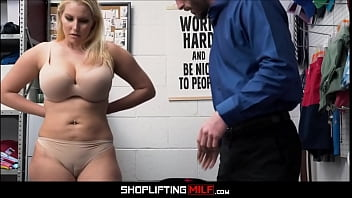 Big Tits Blonde Big Ass MILF Ex Employee Sex With Guard After Deal Is Reached