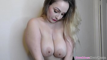 Amazing ass and big natural tits chick, Lycia, shows her all beautiful melons for the camera, and her friends enjoy shaking tits in downblouse.