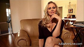 Bokep Busty Blonde Milf Julia Ann knows you have been bad, she is ready to make you cum as she fingers her pussy! See the full video and get access to Julia's live member shows!