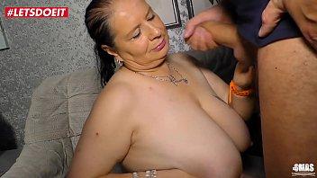 German Aunt gets creampied by her nephew - LETSDOEIT.COM