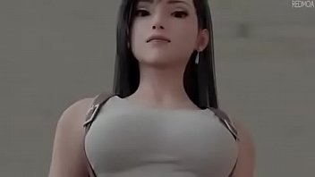 Tifa lockhart gets her victory battle by redmoa