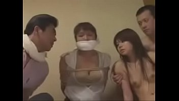 Bokep Japanese family forced to fuck by intruder 2