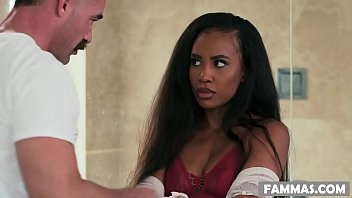 Interracial Shower Sex With Dad And Black StepDaughter