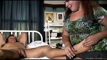 Big tits fatty enjoys hardcore sex and sticky facials