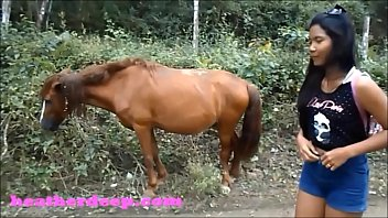 Bokep Sex HD Heather Deep 4 wheeling on scary fast quad and Peeing next to horses in the