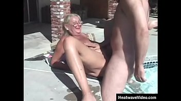 Hey My Grandma Is A Whore #4 - Anastasia Sands - Two guys give the mature slut an awesome fucking