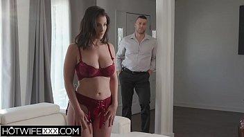Big Tit big Ass Latin Wife Deepthroat Cum On Tits