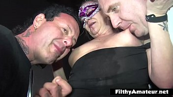 Bokep XXX Gangbang with wife who ejaculates continuously