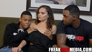 Lil D and Rome Major take turns on fucking slutty girlfriend