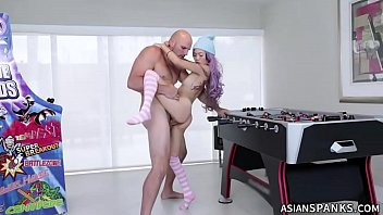 Cute Asian Babe Dicked at Play Room