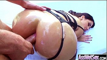 Slut Naughty Oiled Girl (valentina nappi) With Big Round Butts Love Anal Sex movie-22