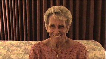 Bokep Granny Shirley has 1st GB
