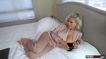 Bokep Huge tits granny stepmom is still a horny MILF slut