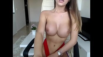 Stunning Teen Fingers Herself with Big Boobs on Cam HomeOfCams